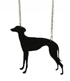 Clara greyhound chain black -kaulakoru (19€)