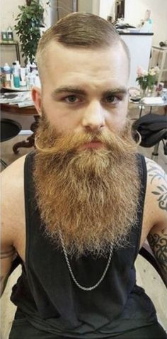 Untitled Epic Beard, Gay Beard, Beard No Mustache, Great Beards, Awesome Beards, Bearded Tattooed Men, Bearded Men, Long Beard Styles, Beard Tattoo