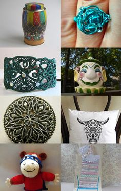 Spring Finds Tempt team by Kellee and Dorian Thomas on Etsy--Pinned with TreasuryPin.com