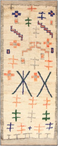 Vintage Moroccan Rug 47098 Main Image - By Nazmiyal  http://nazmiyalantiquerugs.com/antique-rugs/moroccan-style/vintage-moroccan-rug-47098/