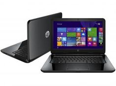 "Notebook HP 14 r051 com Intel Core i3 - 4GB 500GB Windows 8.1 LED 14"" HDMI Webcam"