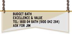 Budget bath has been resurfacing baths & tiles for over 20 years. We service the Sydney metropolitan & Central Coast areas. Bath Tiles, Sydney, Budgeting, Bathroom, Washroom, Bathroom Wall Tiles, Full Bath, Budget Organization, Bath