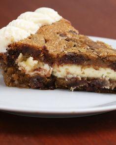 Cheesecake-Stuffed Cookie Cake