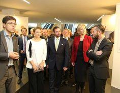 Grand Duke Guillaume and Hereditary Grand Duchess Stephanie visited Luxexpo Fair Center