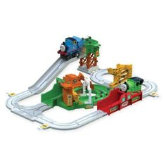 Your little tot will have hours of fun playing with this adorable Tomy Thomas & Friends Thomas the Tank Engine Big Loader Playset. With a fully automated engine, this set features trains and over 8 feet of tracks. Thomas And His Friends, Play Vehicles, Electric Train, Thomas The Tank, Train Set, Models, Classic Toys, Model Trains, Engineering
