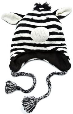 D&Y Women's Animal Face Knit Hat, Zebra, One Size D&Y http://www.amazon.com/dp/B005FPA6P4/ref=cm_sw_r_pi_dp_PuvMwb1SQ69EY