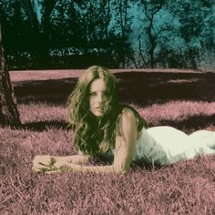"Lana Del Rey ""Ultraviolet White""  Photograph by Neil Krug"