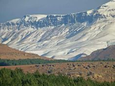 Snow on Gatberg in Elliot, Eastern Cape - South Africa