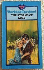 The Storms of Love ~ BARBARA CARTLAND ~ Vintage Romance