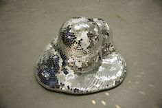melted disco ball