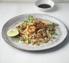 Thai prawn, ginger & spring onion stir-fry