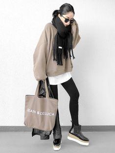 ファッション ファッション in 2020 Black Girl Fashion, Look Fashion, Fashion Pants, Korean Fashion, Fashion Dresses, Womens Fashion, Fashion Design, Winter Fashion Outfits, Autumn Winter Fashion