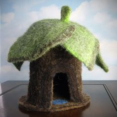 Woodland Home incredible needle felted gnome by TheHandworkGroup