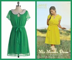 DIY modcloth dresses