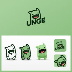 Mascot style logo design and avatar for Twitch streamer UNGE. Design by Ricky AsamManis. Kids Branding, Logo Branding, Brand Identity, Corporate Branding, Identity Design, Web Design, Design Ideas, Logo Inspiration, Arquitectura Logo