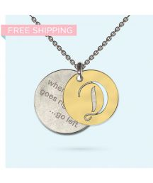 Engrave a personalised and meaningful message on this unique pendant made from precious metals. The message is yours, partially obscured by a beautifully designed pendant, making it an ideal conversation piece - It's your secret message, Wheel Of Life, Pendant Design, Precious Metals, Initials, Pendants, Gold, Pendant, Charms, Yellow