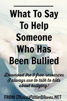 It is so important to understand real cyber bullying facts. There is a lot of information out there that is untrue and not helpful. This is a straight to the heart of things article about what really happens to people when they are bullied, what bullying feels like, and how to help someone who has been bulled. Bonus: There is a free download of how to talk kids about cyber bullying in this post!