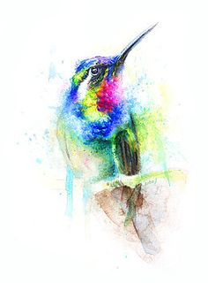 Saatchi Art Hummingbird Painting By Boba J