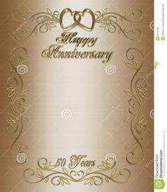 Anniversary Invitations Template New Wedding Anniversary Layouts 50th Wedding Anniversary Invitations, Golden Wedding Anniversary, Invitation Maker, Invitation Card Design, Free Wedding Invitation Templates, Groomsmen Invitation, Invitation Background, Making Ideas, Layouts