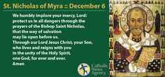 Prayer for St. Nicholas of Myra
