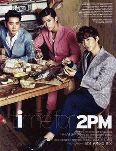 2PM // Vogue Korea // June 2013