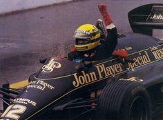 Ayrton Senna - Grande Premio de Portugal 1985.  I miss those good old days :(