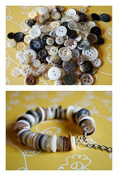 Cute Button Bracelet Tutorial