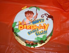 Go diego Go cake by sweetmother1, via Flickr