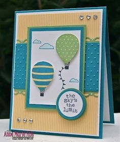 Stampin' Up! - Up, Up & Away! by alfreda