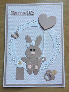 Baby Shower Cards, Baby Cards, Marianne Design Cards, Scrapbook, Tags, Handmade, Bebe, Hand Made, Craft