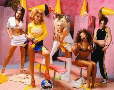 Spice Girls locker room