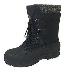 d3d657e182 G4U-706S Men's Winter Boots Cold Weather Water Repellent Nylon 9