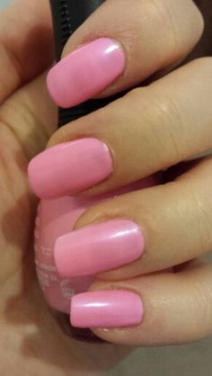 Barbie pink nails - Orly