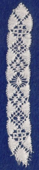 Website with patterns for and tutorials for lace