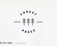 Minimalist Logo - Pre-Made Logo Design by The Paris Studio, Madame Levasseur - American designer in Paris
