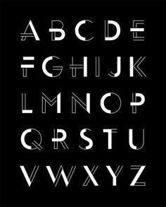 Fassade Display Typeface Family on Behance letras con poderes más claras que otras Art Deco Typography, Font Art, Typography Letters, Art Deco Font, Handwriting Styles, Handwriting Fonts, Beautiful Handwriting, Cursive Fonts, Writing Styles Fonts