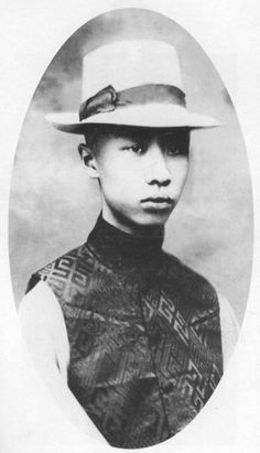 Emperor Puyi of China-The last Emperor in China. The photo should be taken circa 1920s.