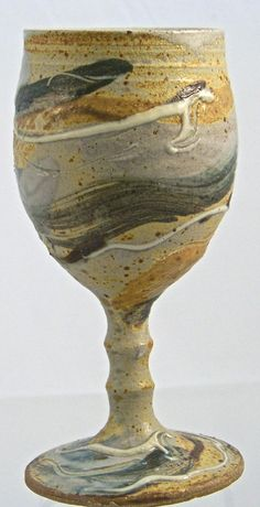 Hand Thrown Pottery  Goblets  with a by ellisonbaypottery on Etsy, $38.00