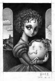 Pinzellades al món: Il·lustracions de Liuyi & Shandan