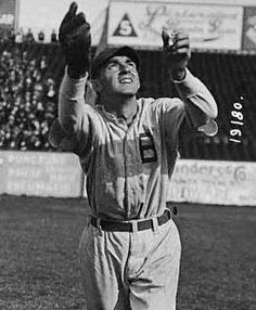 """Lawrence William Gilbert (December 3, 1891 – February 17, 1965) was an outfielder and a longtime manager in minor league baseball. A native of New Orleans, Louisiana, who broke into baseball as a left-handed pitcher, Gilbert first became famous as a member of the 1914 """"Miracle"""" Boston Braves. Played for the Braves from 1914-1915 and the New Orleans Pelicans from 1917-1925. Jesuit High School alum."""