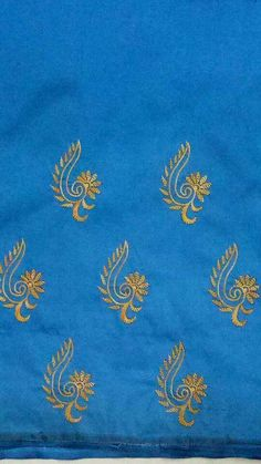 Phulkari Embroidery, Embroidery On Kurtis, Hand Embroidery Dress, Hand Embroidery Videos, Embroidery Works, Beaded Embroidery, Hand Embroidery Design Patterns, Simple Embroidery Designs, Hand Embroidery Stitches