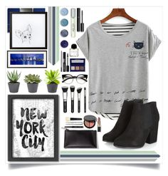 """""""Chill Grey Day"""" by angelstylee ❤ liked on Polyvore featuring Bobbi Brown Cosmetics, Americanflat, LORAC, Terre Mère, New Look, Chanel and Byredo"""