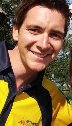 James' adorable face
