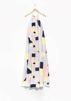 Pin for Later: You're Going to Love This Quirky Meets Cool Girl Collaboration Rachel Antonoff Halter Maxi Dress Halter Maxi Dresses, Striped Maxi Dresses, Essentiels Mode, Rachel Antonoff, Classy And Fabulous, Stay Classy, Yellow Dress, Cool Girl, Spring Fashion