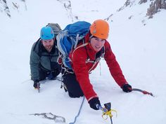 Snow and Ice Climbing – Introduction Course. Ice climbing courses with Adventure Peaks. Aimed at those who already have basic winter skills and want to climb snow and ice at grades l to lll.