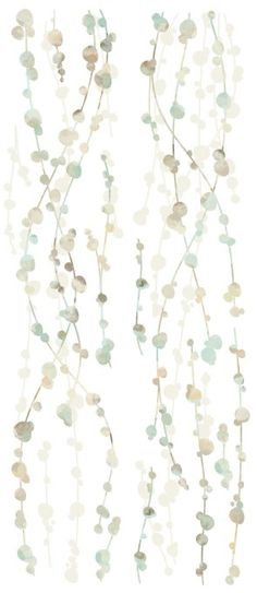RoomMates RMK2394SCS Hanging Vine Watercolor Peel and Stick Wall Decals, 1-Pack - Decorative Wall Appliques - Amazon.com