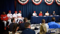 Nationals unveil 2018 All-Star Game logo = The 2017 MLB All-Star Game at Marlins Park in Miami was played less than two weeks ago, which means it's time to turn the corner to see what's in store for 2018. Next year's showcase will be held at Nationals Park in Washington, D.C., on July 18 for.....