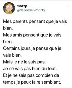 Sad Quotes, Inspirational Quotes, Bad Parenting Quotes, Sad Pictures, French Quotes, Bad Mood, Sad Love, Some Words, Positive Affirmations