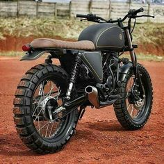 Creative Image of Scrambler Motorcycle. To get a better picture of the scrambler, it is better to be aware of the crucial components of a scrambler. A scrambler should go through every sort . Blitz Motorcycles, Cool Motorcycles, Vintage Motorcycles, Suzuki Yes 125, Honda 125, Scooter Moto, Moto Bike, Yamaha R1, Ducati