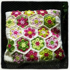 crochet pillow Crochet Pillow, Crochet Afghans, Caron Yarn, Old Ones, Blankets, Curtains, Pillows, Knitting, Create